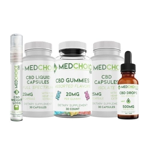 MedChoice CBD products