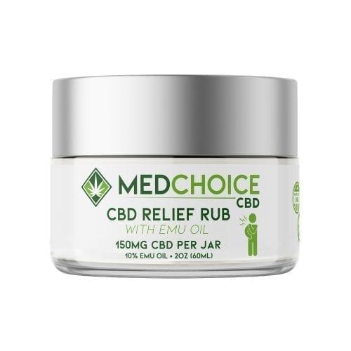 MedChoice CBD relief rub