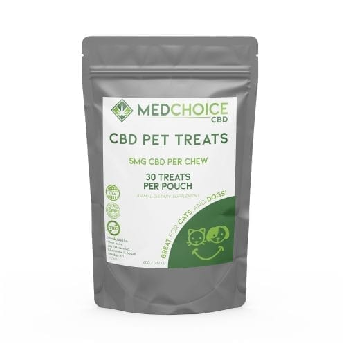 MedChoice CBD pet treats